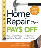 Home Repair That Pay$ Off