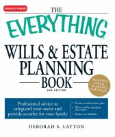 The Everything Wills & Estate Planning Book