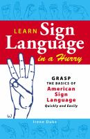 Learn Sign Language in A Hurry