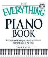 The Everything Piano Book
