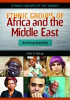 Ethnic Groups of Africa and the Middle East