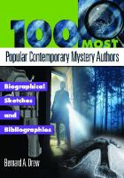 The 100 Most Popular Contemporary Mystery Authors