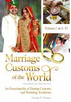 Marriage Customs of the World