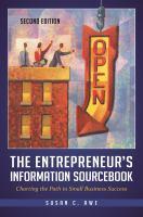 The Entrepreneur's Information Sourcebook