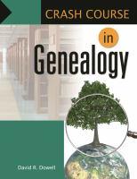 Crash Course in Genealogy