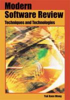 Modern Software Review