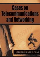Cases on Telecommunications and Networking