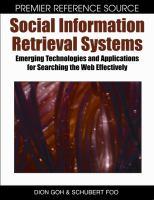 Social Information Retrieval Systems