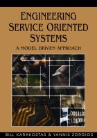 Engineering Service Oriented Systems
