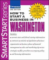 How to Start A Business in Washington