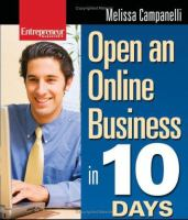 Entrepreneur Magazine's Open An Online Business in 10 Days