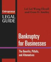 Bankruptcy for Businesses