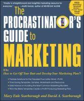 Procrastinator's Guide to Marketing