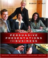 Persuasive Presentations for Business