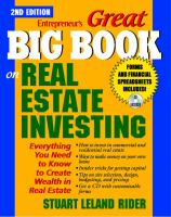 Entrepreneur's Great Big Book on Real Estate Investing