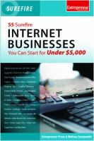 55 Surefire Internet Businesses You Can Start for Under $5,000