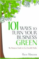 101 Ways to Turn your Business Green