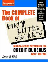 The Complete Book of Dirty Little Secrets