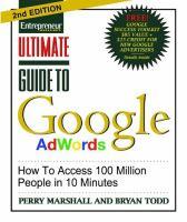 Entrepreneur Magazine's Ultimate Guide to Google AdWords