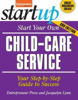 Start your Own Child Care Business