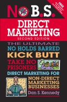No B.s. Guide to Direct Marketing