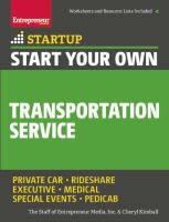 Start your Own Transportation Service