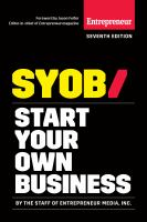 SYOB, Start your Own Business