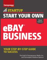 Start your Own EBay Business
