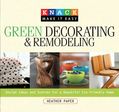 Green Decorating and Remodeling book cover