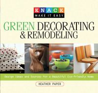 Green Decorating & Remodeling