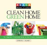Clean Home, Green Home