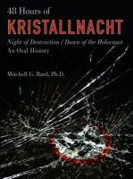 48 Hours of Kristallnacht