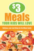 $3 Meals your Kids Will Love