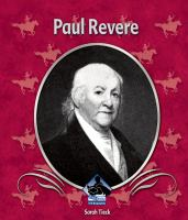 Paul Revere (First Biographies)