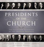 The Presidents of the Church
