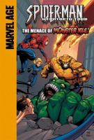Spider-Man and Fantastic Four in The Menace of Monster Isle!