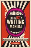 This Is Not A Writing Manual