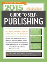 2015 Guide to Self-publishing
