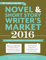 Novel & Short Story Writer's Market 2016