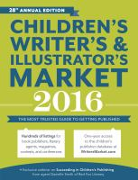 Children's Writer's and Illustrator's Market 2016