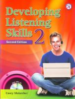Developing Listening Skills