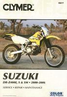 Clymer Suzuki DR-Z400E, S & SM, 2000-2006