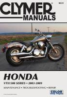 Clymer Honda VTX1300 Series, 2003-2009
