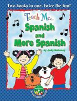 Teach me-- Spanish and more Spanish