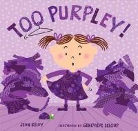 Too Purpley!