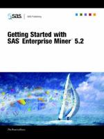 Getting Started With SAS Enterprise Miner 5.2