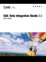 SAS Data Integration Studio 3.4