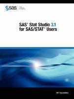 SAS Stat Studio 3.1 for SAS/STAT Users