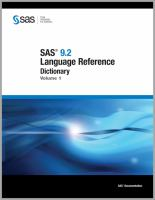 SAS 9.2 Language Reference