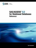 SAS/ACCESS 9.2 for Relational Databases Reference